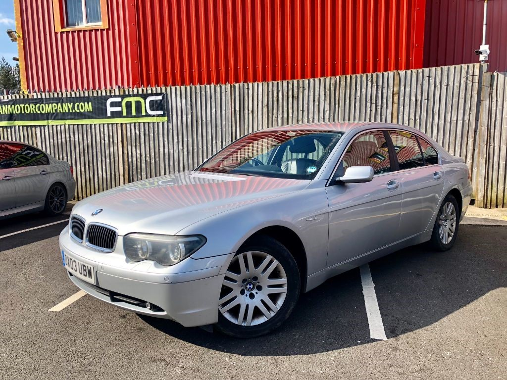 used BMW 735i SE AUTO in swansea-south-wales