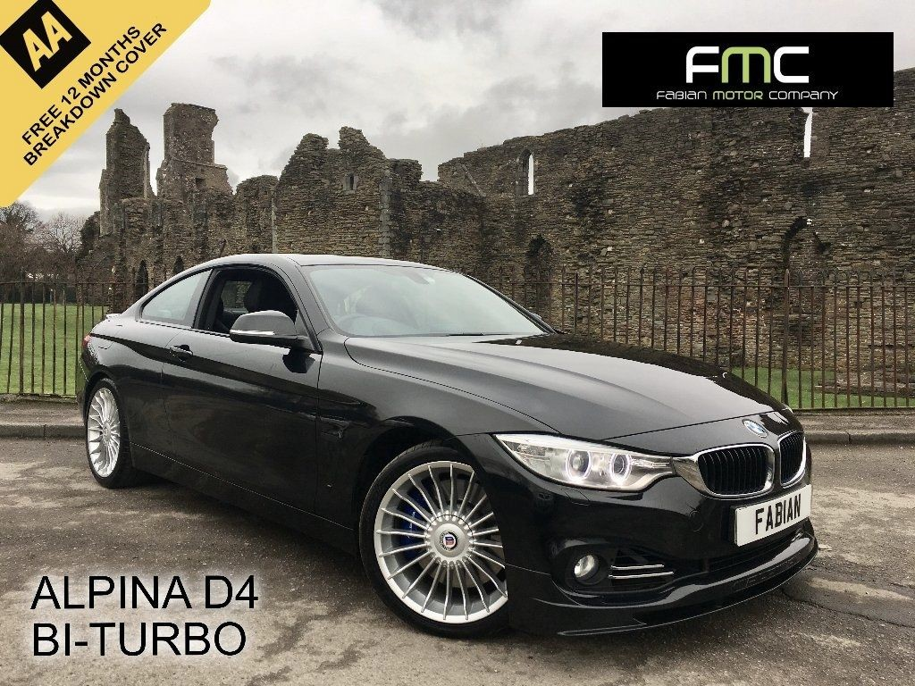 used BMW Alpina D4 BITURBO AUTO in swansea-south-wales