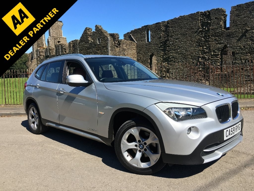 used BMW X1 20d SE SUV 5dr Manual xDrive (153 g/km, 177 bhp) in swansea-south-wales