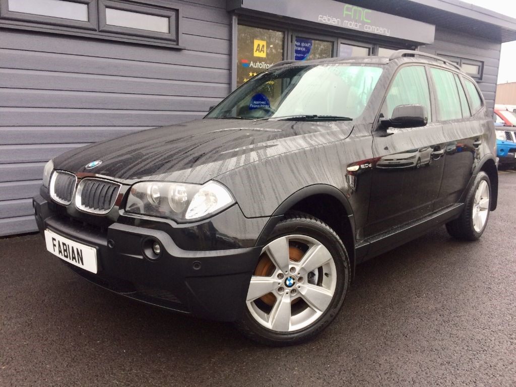used BMW X3 D SPORT in swansea-south-wales