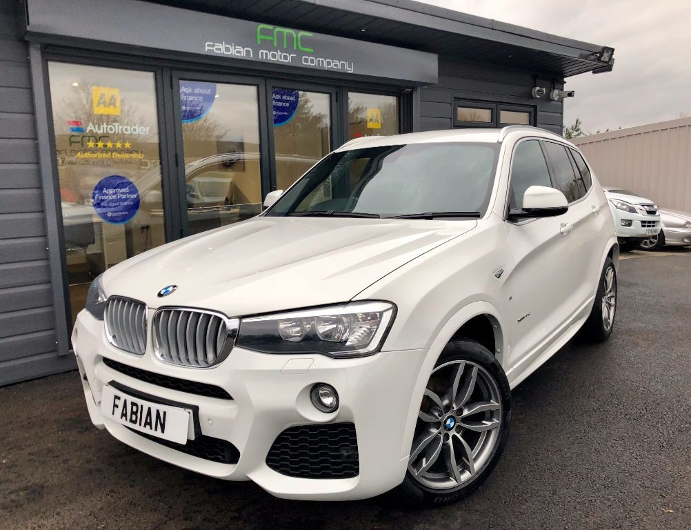 used BMW X3 XDRIVE20D M SPORT in swansea-south-wales