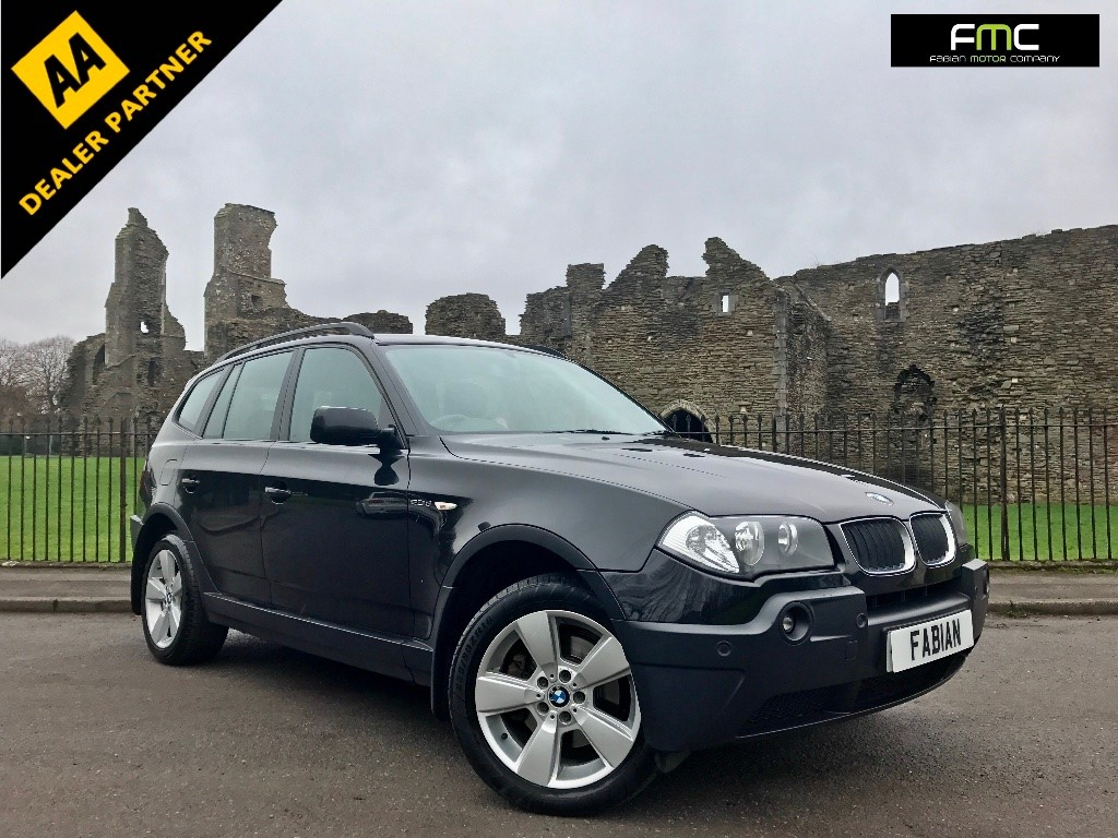 used BMW X3 d Sport SUV 5dr Manual (191 g/km, 150 bhp) in swansea-south-wales