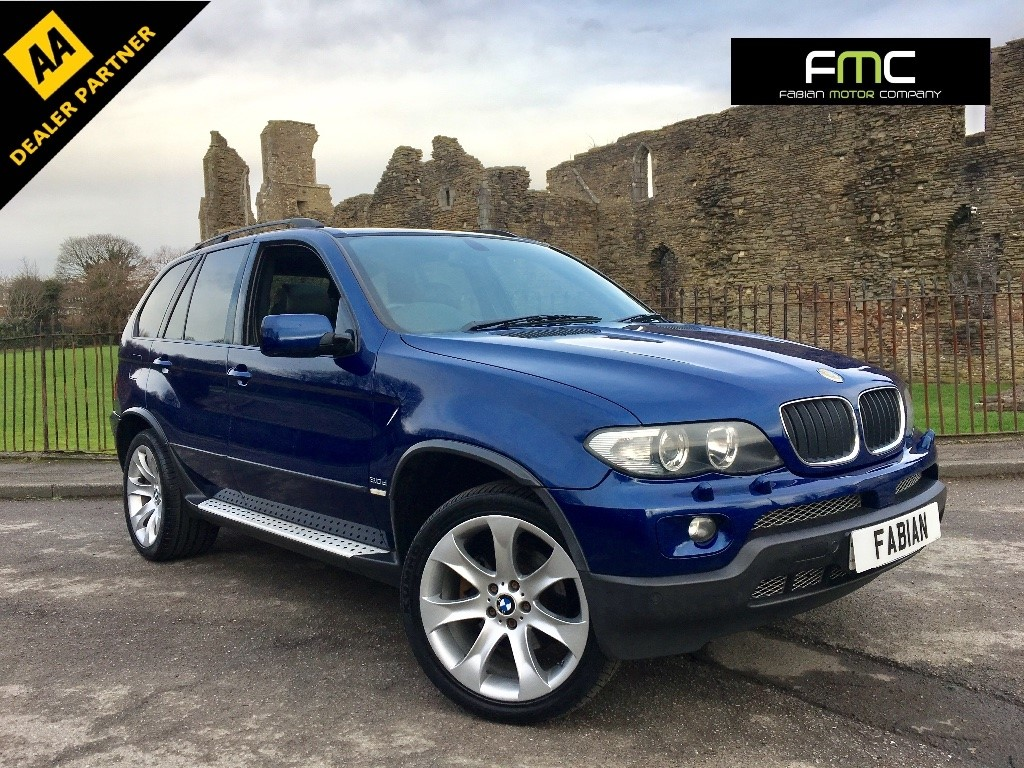 used BMW X5 d BluePerformance Le Mans Blue Sport 5dr in swansea-south-wales