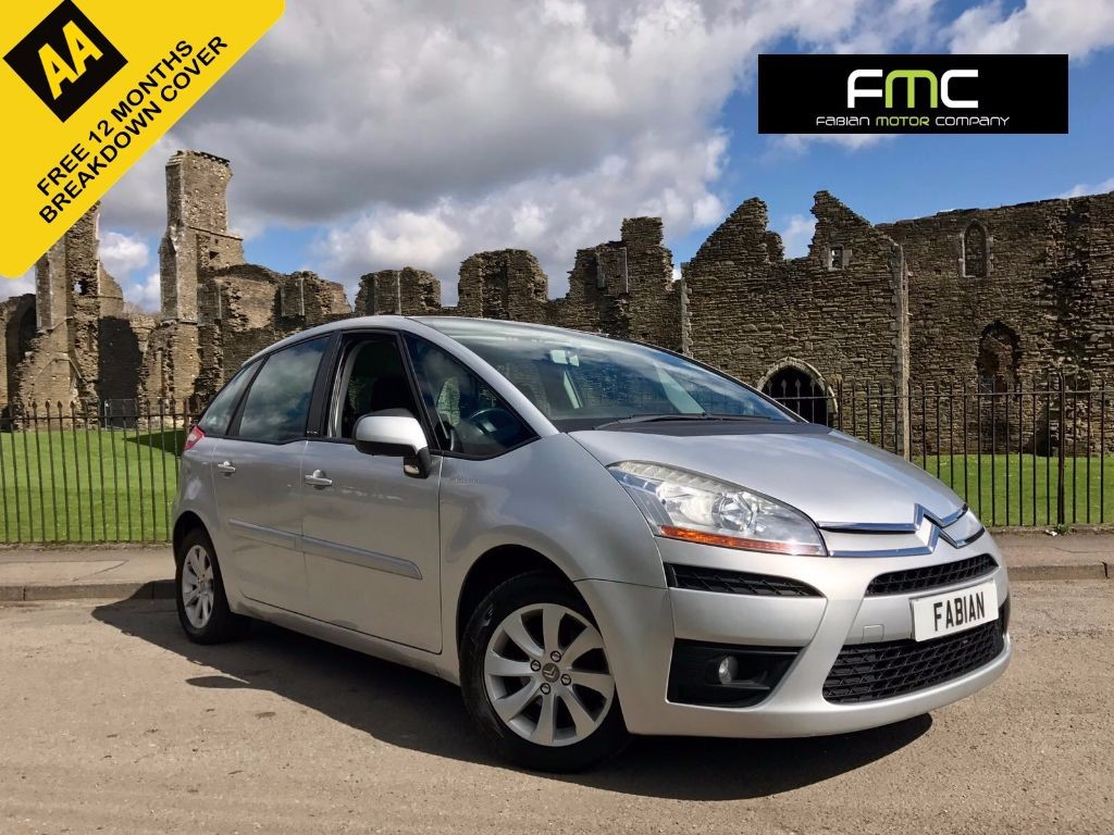 used Citroen C4 Picasso 1.8 i VTR+ MPV 5dr Manual (190 g/km, 127 bhp) in swansea-south-wales