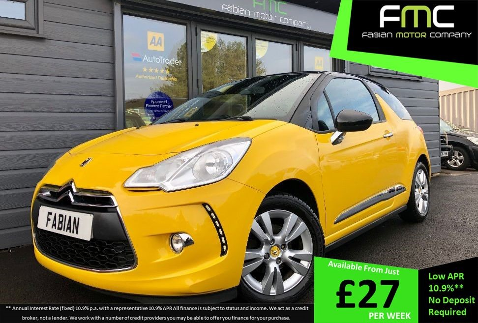 used Citroen DS3 1.6 E HDI AIRDREAM DSTYLE in swansea-south-wales