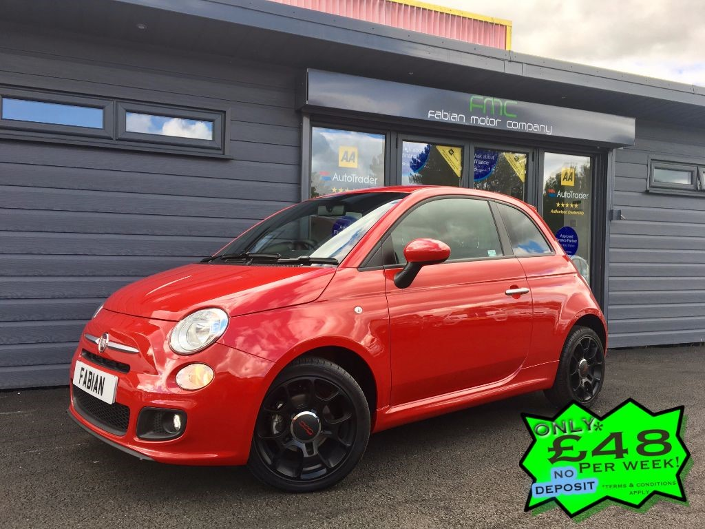 used Fiat 500 TWINAIR S DUALOGIC in swansea-south-wales