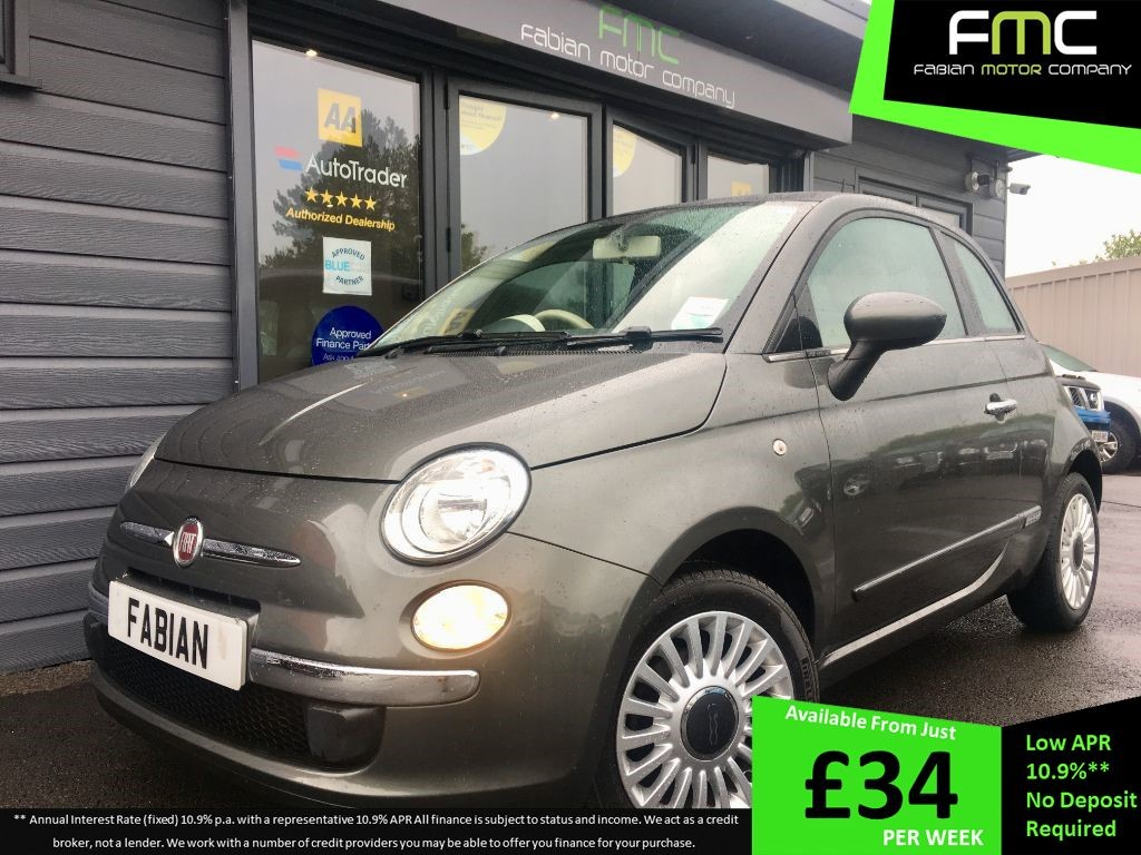 used Fiat 500 LOUNGE in swansea-south-wales