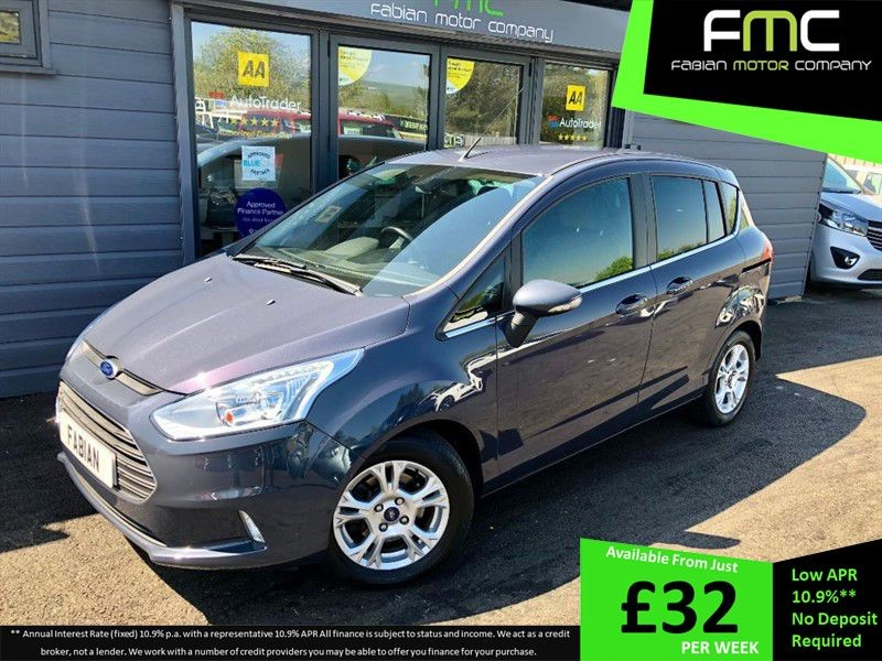 used Ford B-Max ZETEC in swansea-south-wales