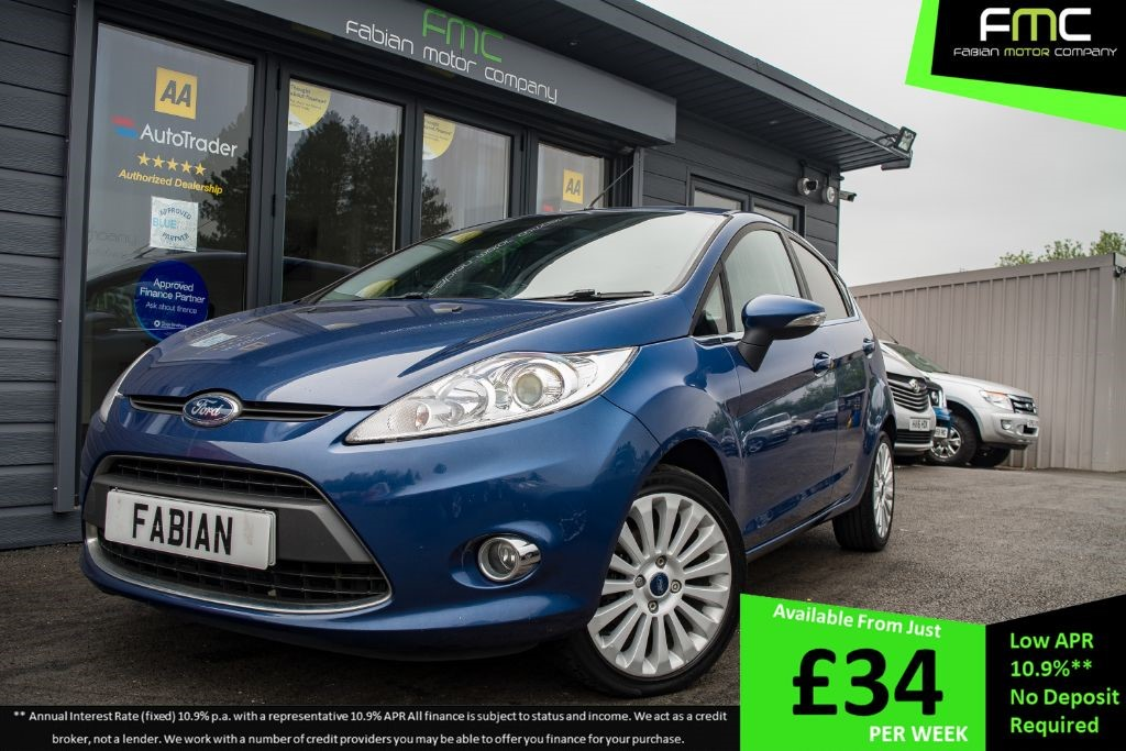 used Ford Fiesta TITANIUM in swansea-south-wales