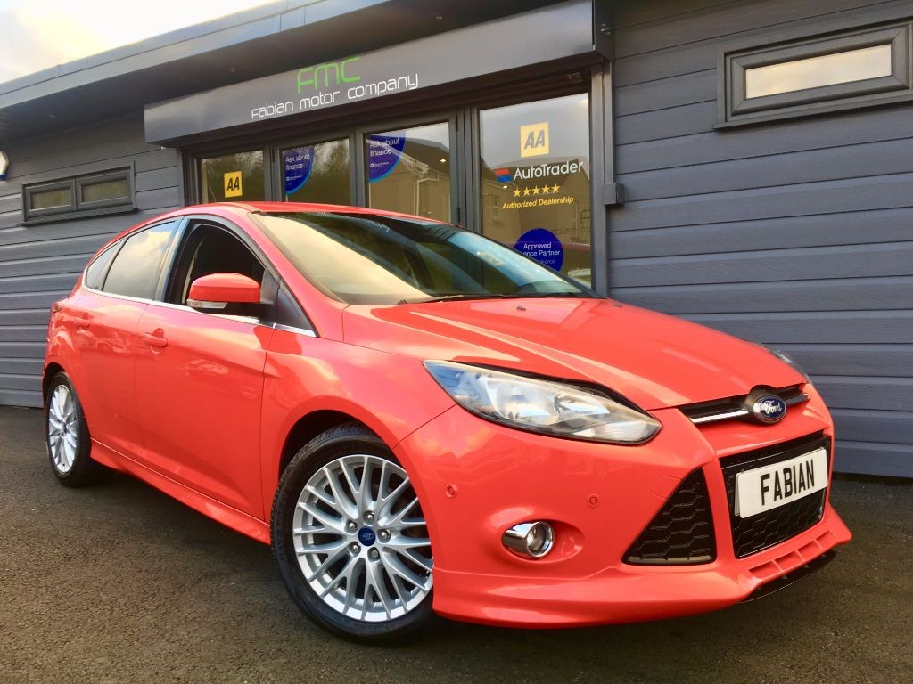 used Ford Focus ZETEC S S/S in swansea-south-wales