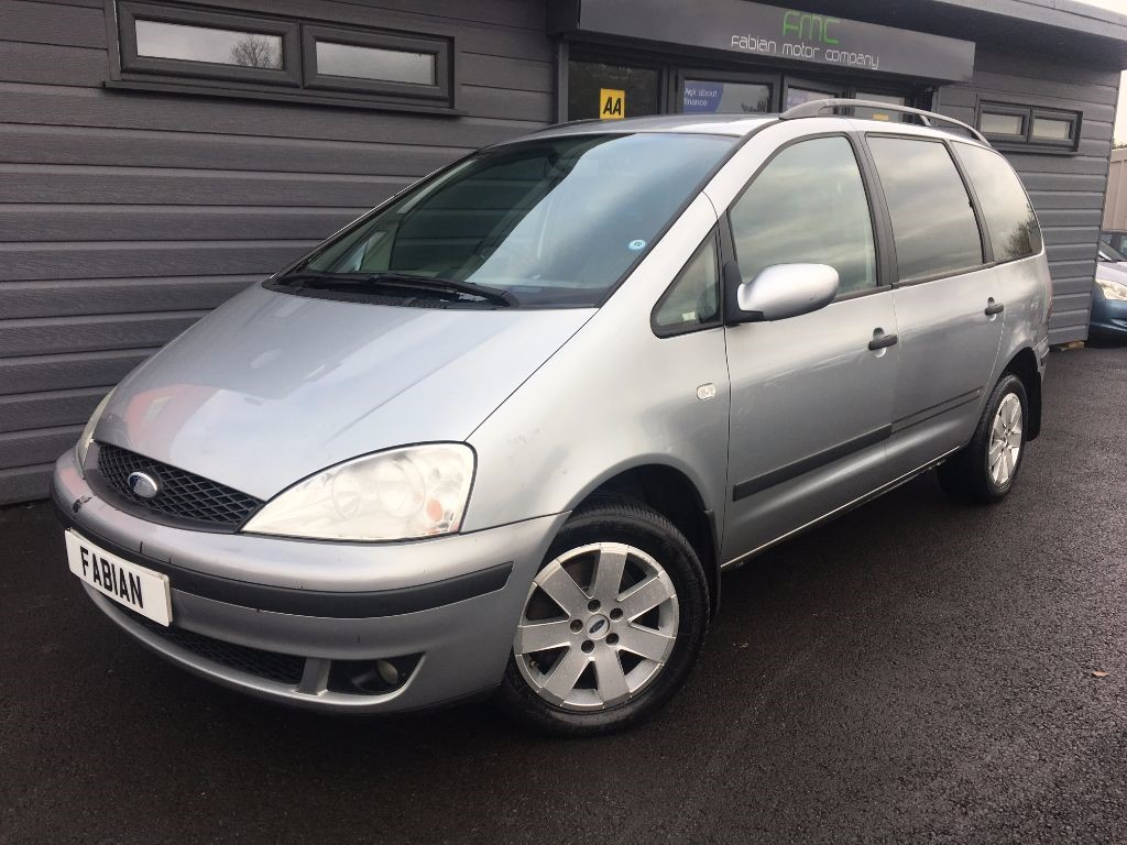 used Ford Galaxy ZETEC TDDI in swansea-south-wales
