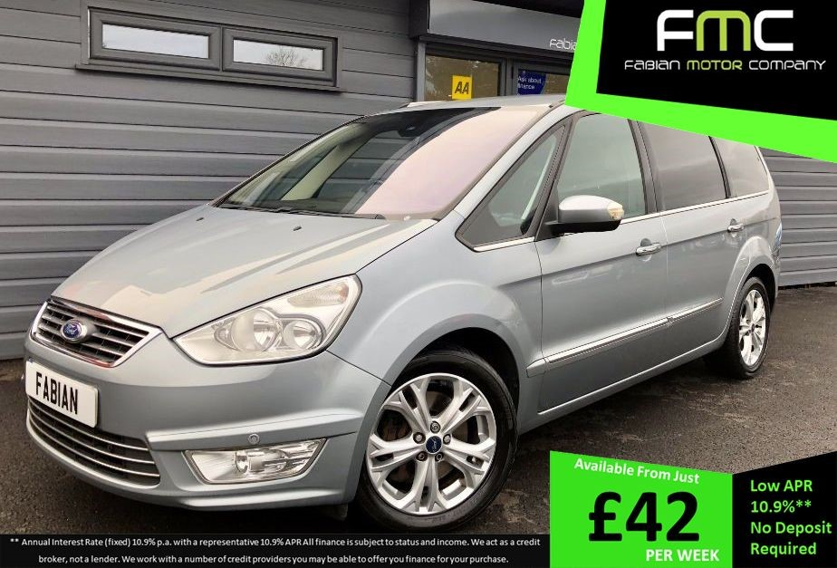 used Ford Galaxy TITANIUM X in swansea-south-wales