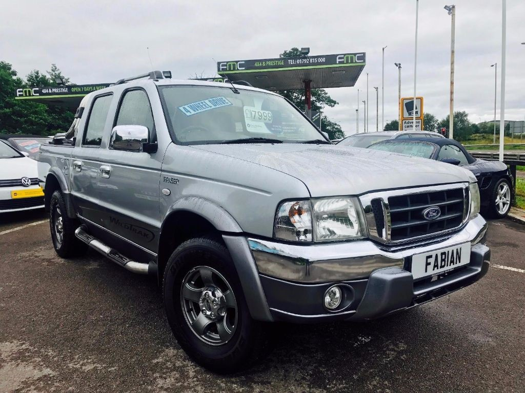 used Ford Ranger XLT WILDTRAK 4X4 D/C in swansea-south-wales