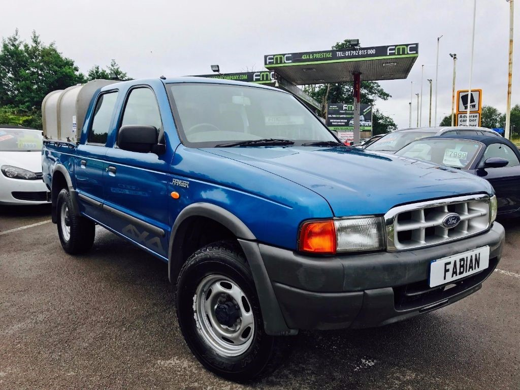 used Ford Ranger DOUBLE CAB4X4 TD in swansea-south-wales