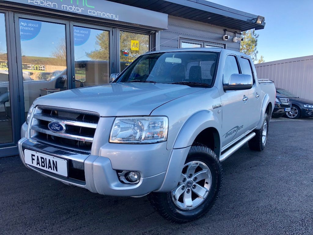 used Ford Ranger THUNDER 4X4 D/C in swansea-south-wales