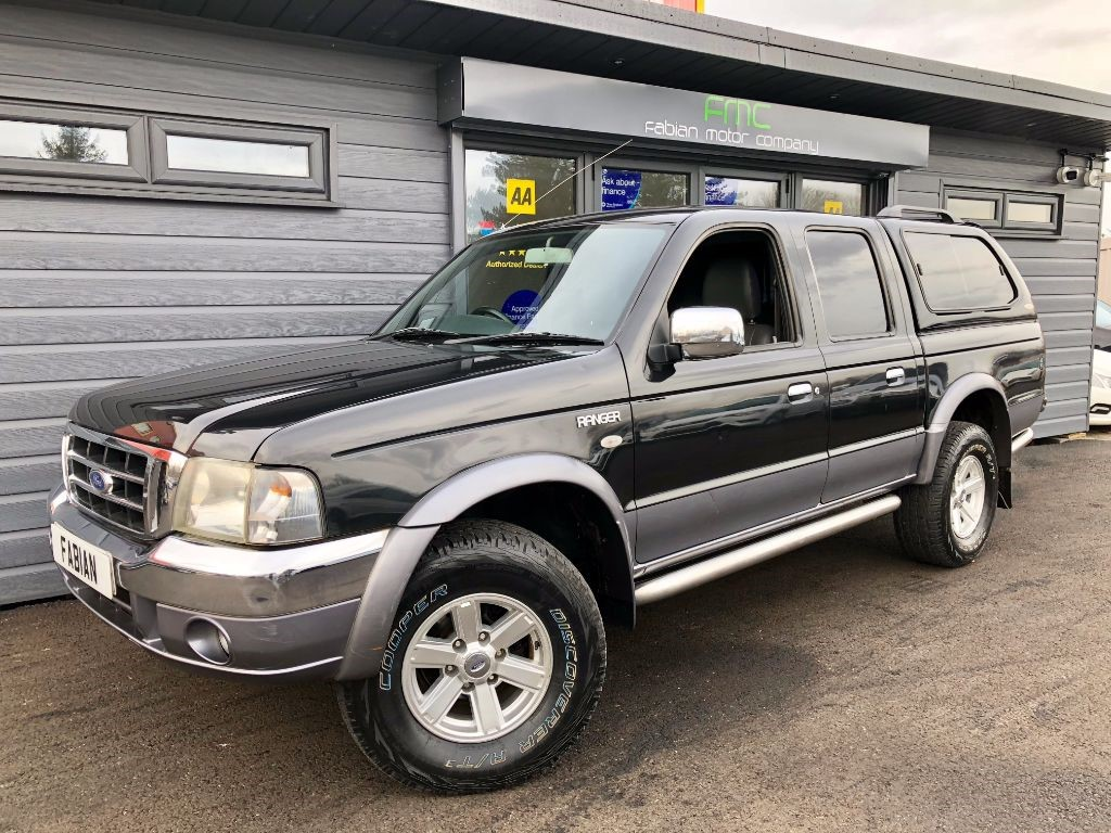 used Ford Ranger THUNDER D/C in swansea-south-wales
