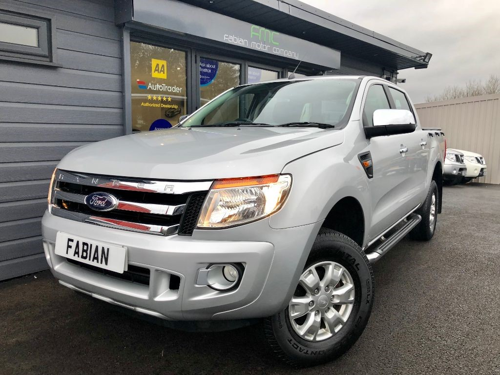 used Ford Ranger XLT 4X4 DCB TDCI in swansea-south-wales