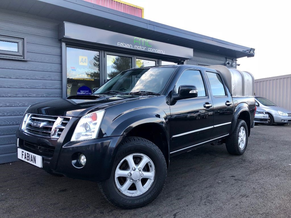 used Isuzu Rodeo RODEO DENVER TD LWB D/C in swansea-south-wales
