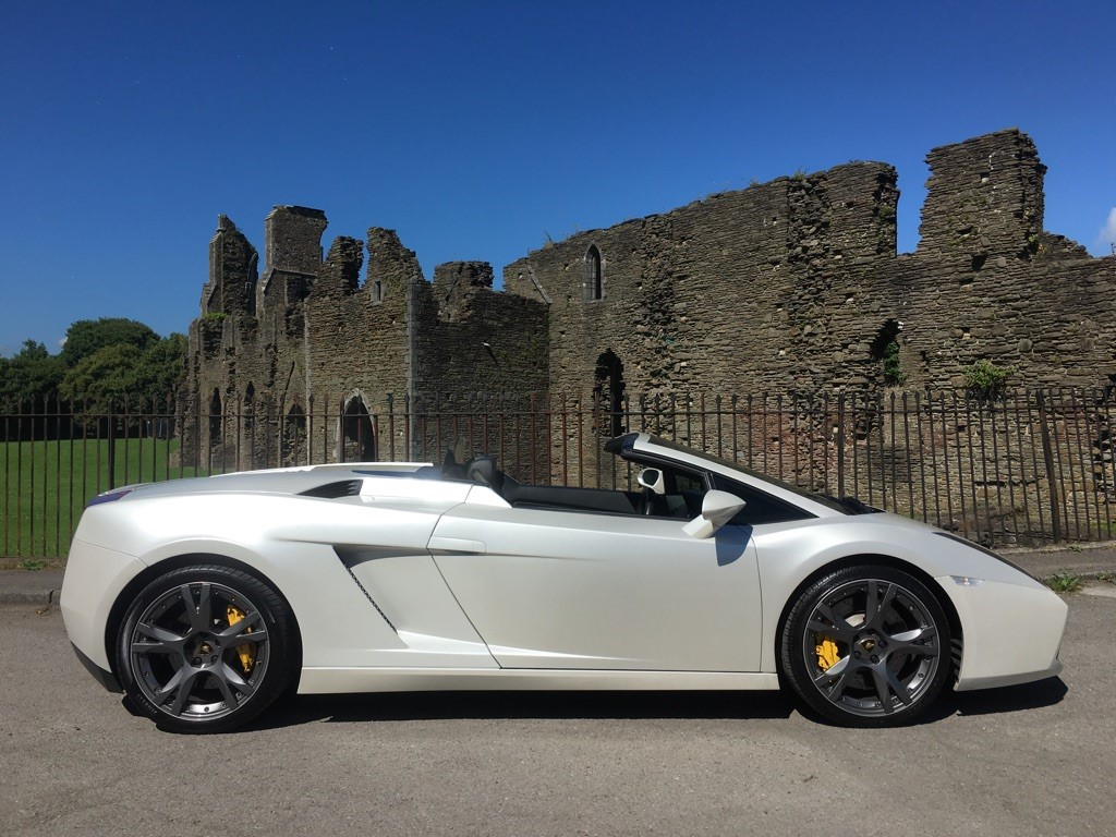 used Lamborghini Gallardo V10 4WD 2dr in swansea-south-wales