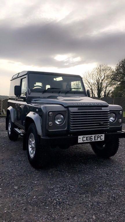 used Land Rover Defender 90 TD HARD TOP XS in swansea-south-wales