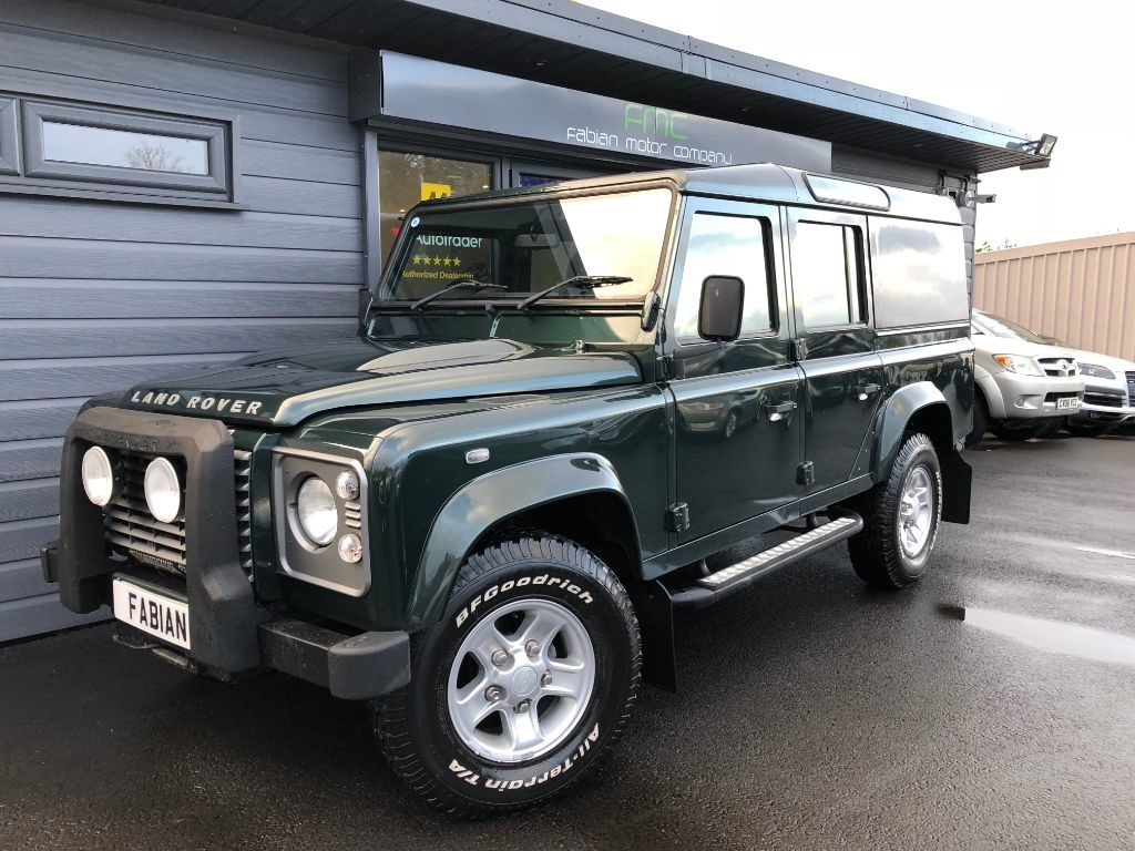 used Land Rover Defender 110 TD XS COUNTY STATION WAGON in swansea-south-wales