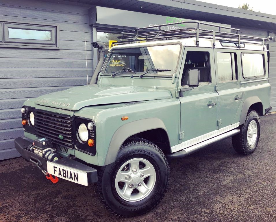 used Land Rover Defender 110 STATION WAGON LWB in swansea-south-wales