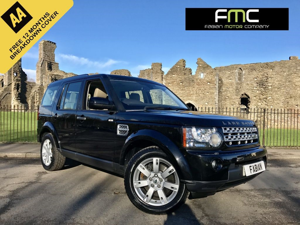 used Land Rover Discovery 4 TD V6 XS 5dr in swansea-south-wales