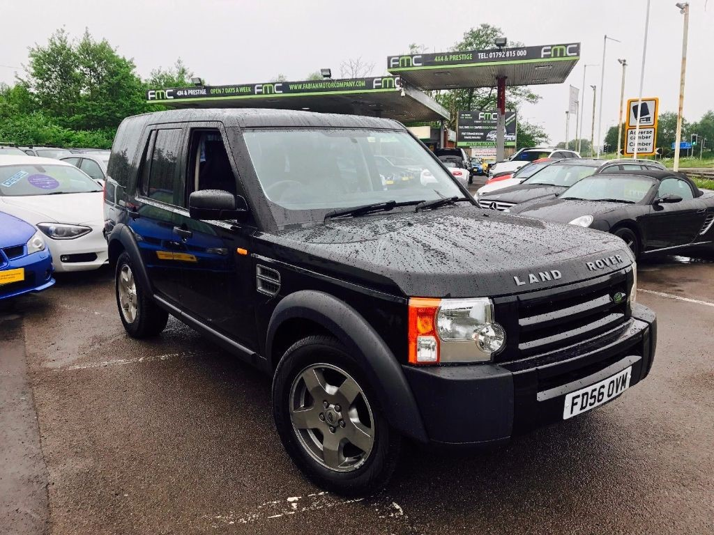 used Land Rover Discovery 3 TDV6 7 SEATS in swansea-south-wales