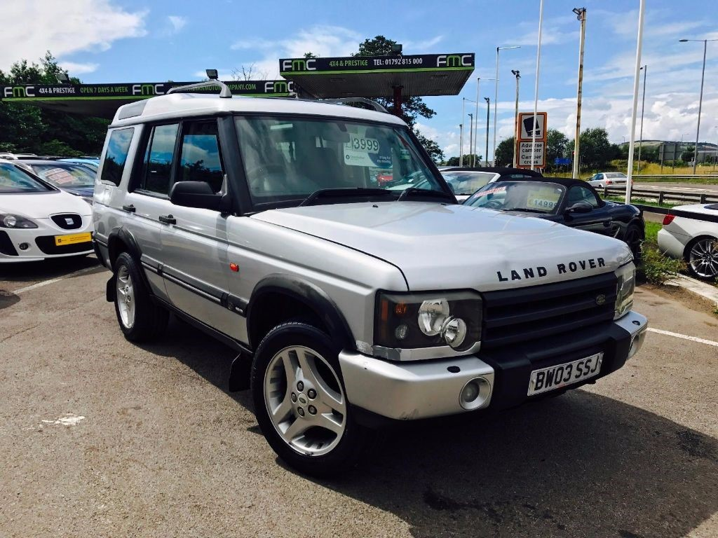 used Land Rover Discovery TD5 LE ADVENTURER 7STR in swansea-south-wales