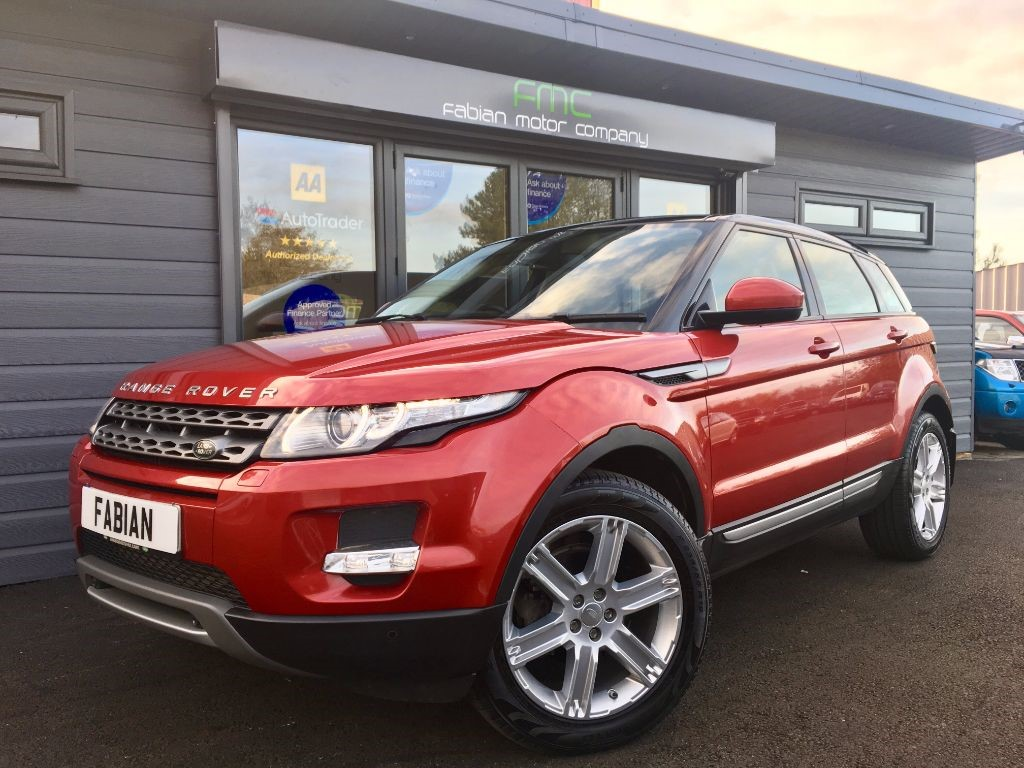 used Land Rover Range Rover Evoque SD4 PURE TECH in swansea-south-wales
