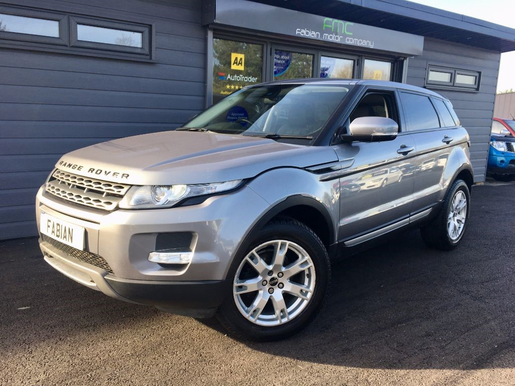 used Land Rover Range Rover Evoque SD4 PURE in swansea-south-wales