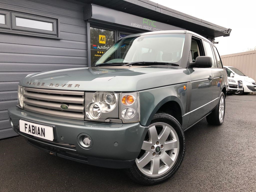 used Land Rover Range Rover V8 HSE in swansea-south-wales