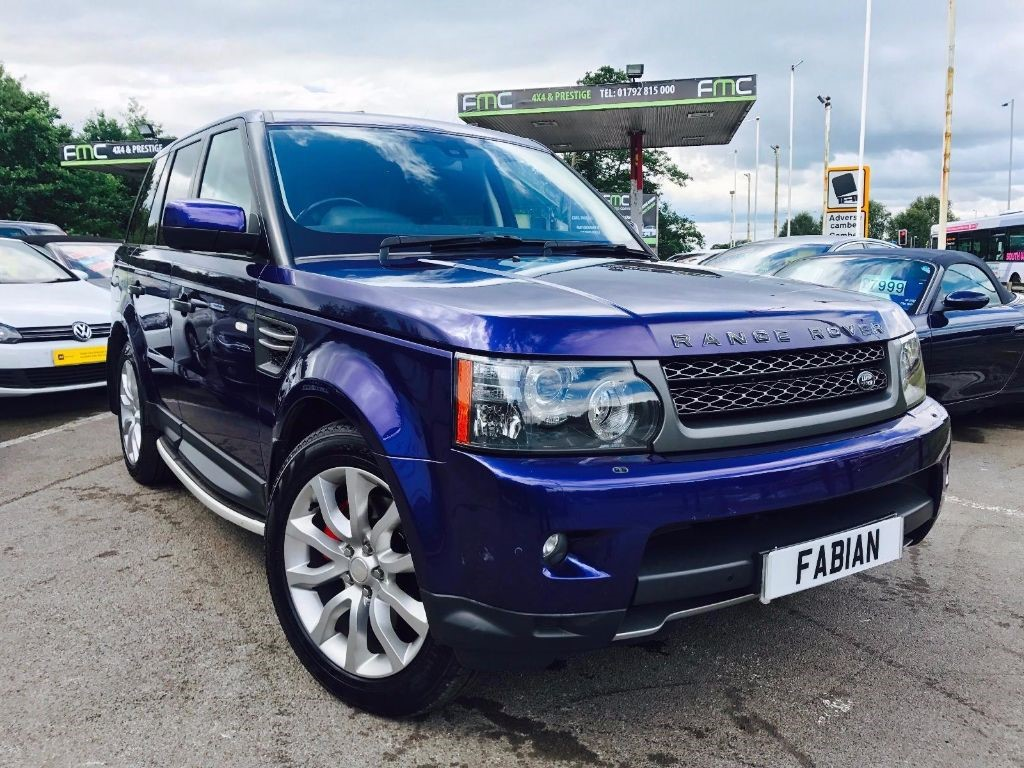 used Land Rover Range Rover Sport TDV6 HSE in swansea-south-wales