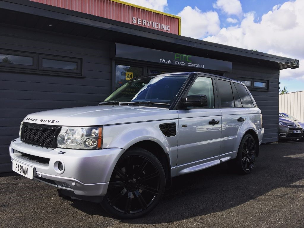 used Land Rover Range Rover Sport TDV6 SPORT HSE in swansea-south-wales