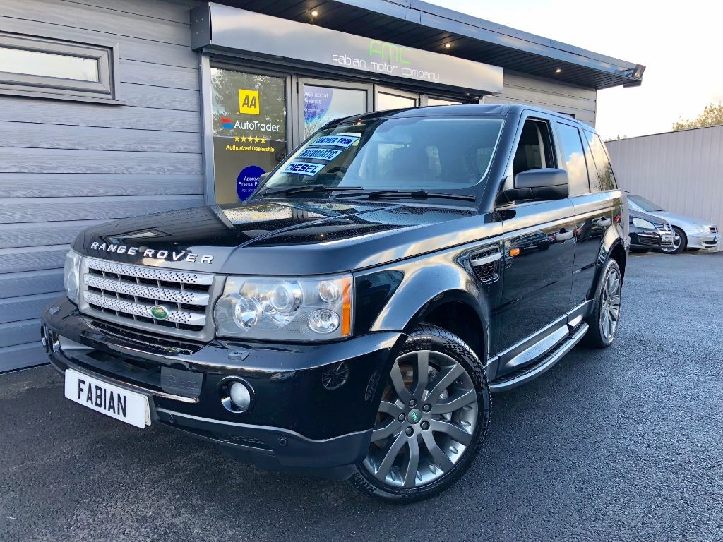 used Land Rover Range Rover Sport TDV8 SPORT HSE in swansea-south-wales