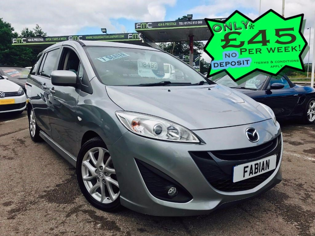 used Mazda  5 SPORT D 115PS in swansea-south-wales