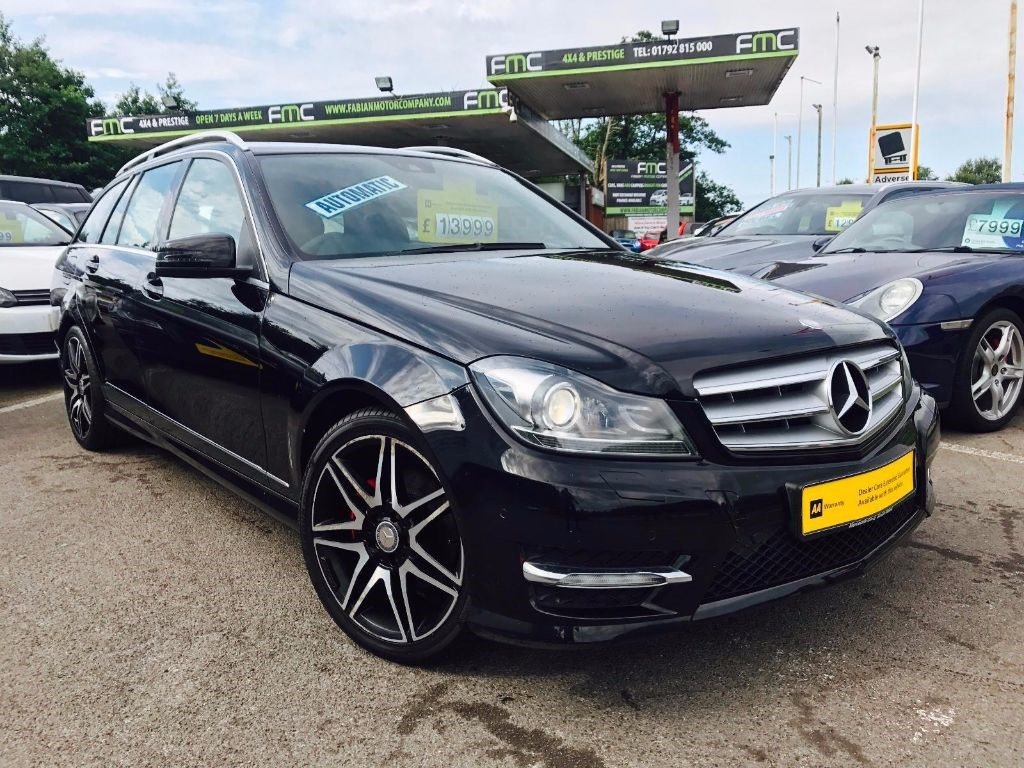 used Mercedes C200 C Class CDI AMG Sport Plus 7G-Tronic 5dr in swansea-south-wales