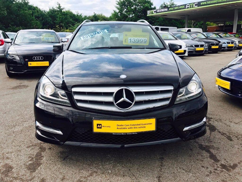 Used Black Mercedes C200 For Sale Swansea