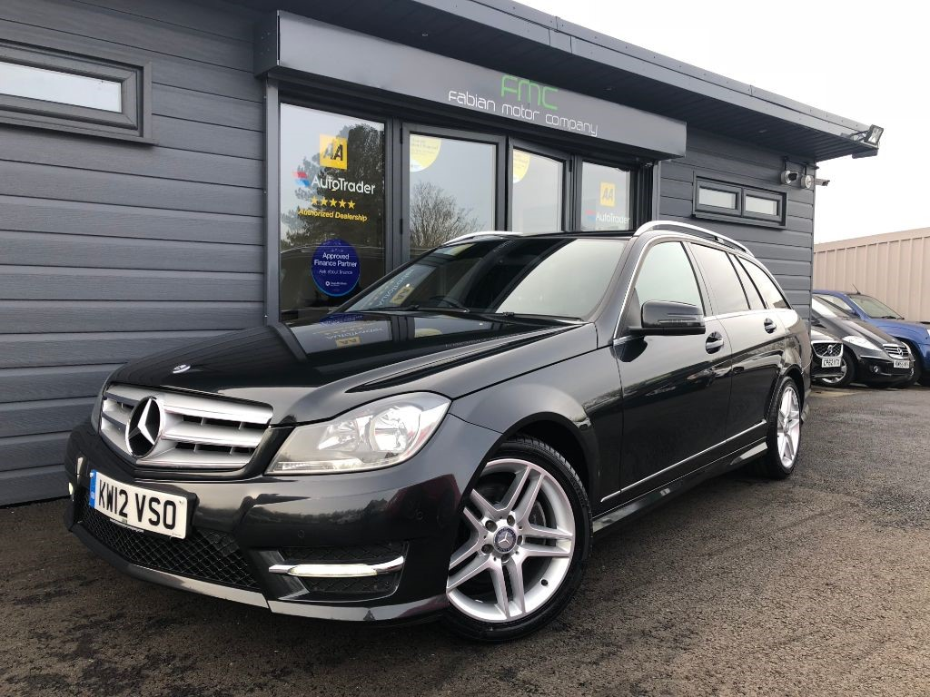 used Mercedes C200 CDI BLUEEFFICIENCY AMG SPORT in swansea-south-wales
