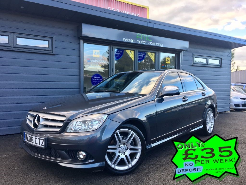 used Mercedes C200 CDI SPORT in swansea-south-wales