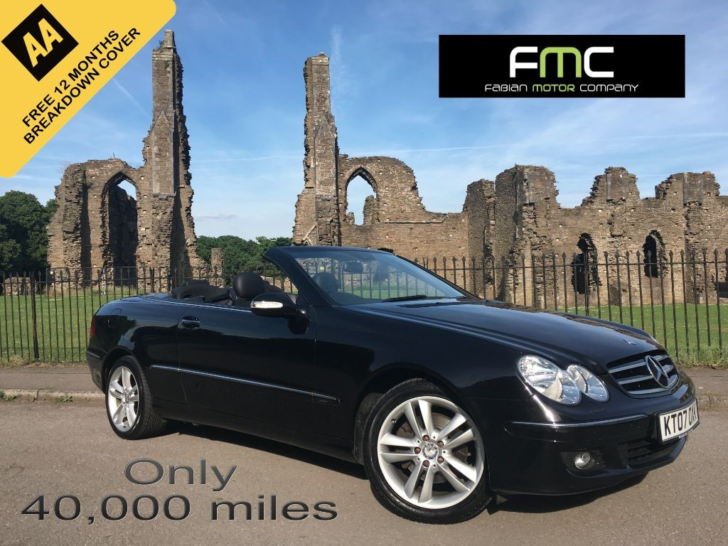 used Mercedes  CLK200 KOMPRESSOR AVANTGARDE in swansea-south-wales