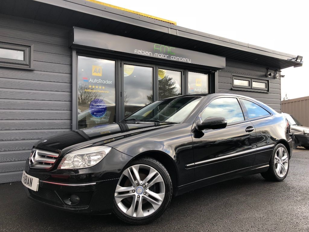 used Mercedes CLC200 CDI SE in swansea-south-wales