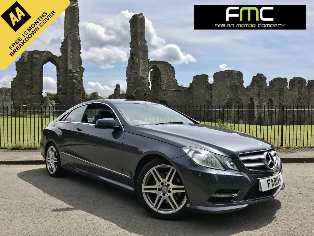 used Mercedes E220 CDI BLUEEFFICIENCY SPORT ED125 in swansea-south-wales