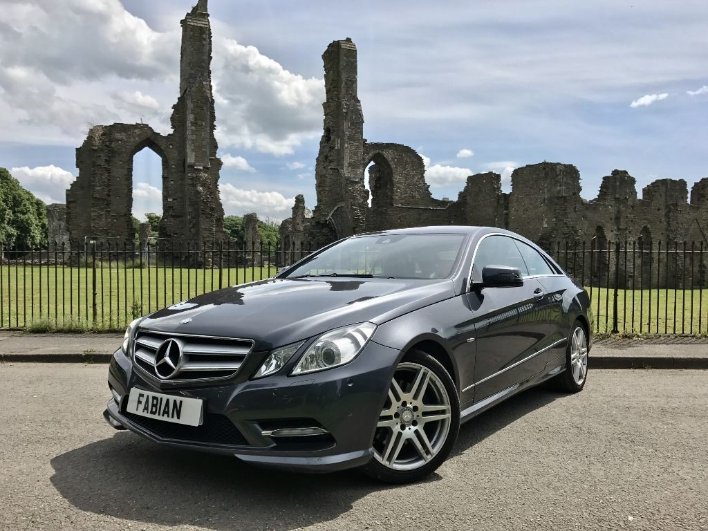 Used grey mercedes e220 for sale swansea for Mercedes benz swansea