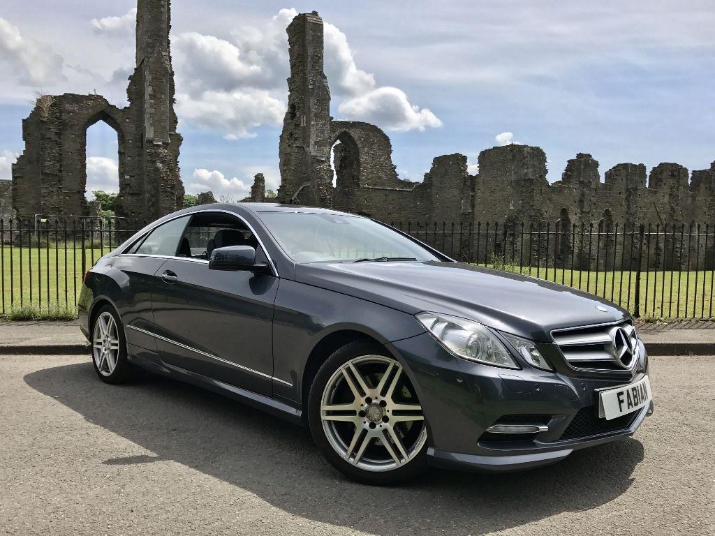 used Mercedes E220 CDI BLUEEFFICIENCY SPORT ED125 in swansea-south-wales