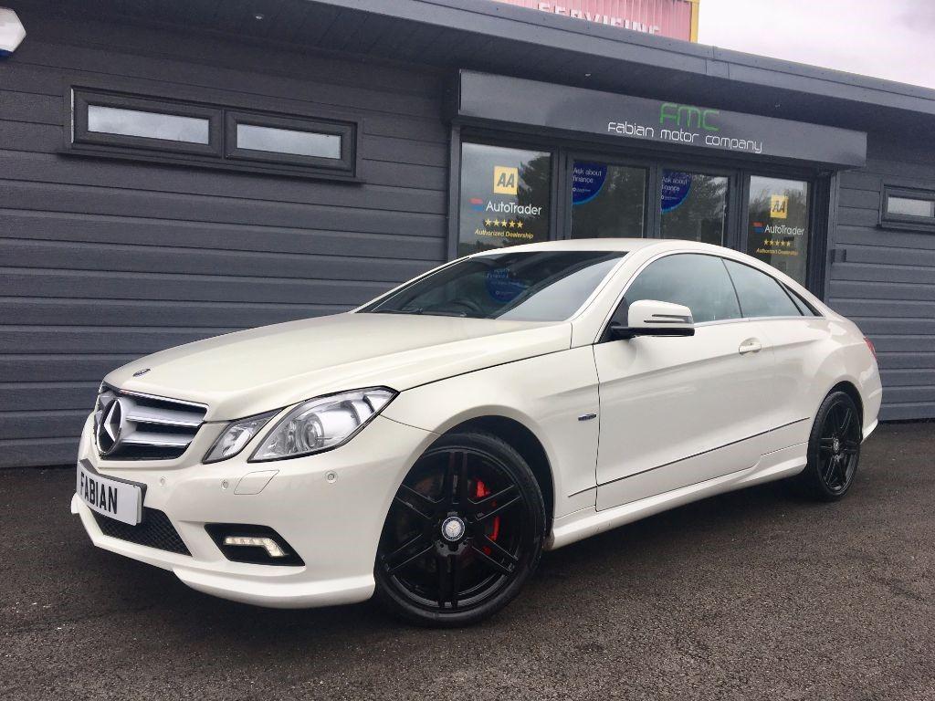 used Mercedes E350 CDI BLUEEFFICIENCY SPORT in swansea-south-wales