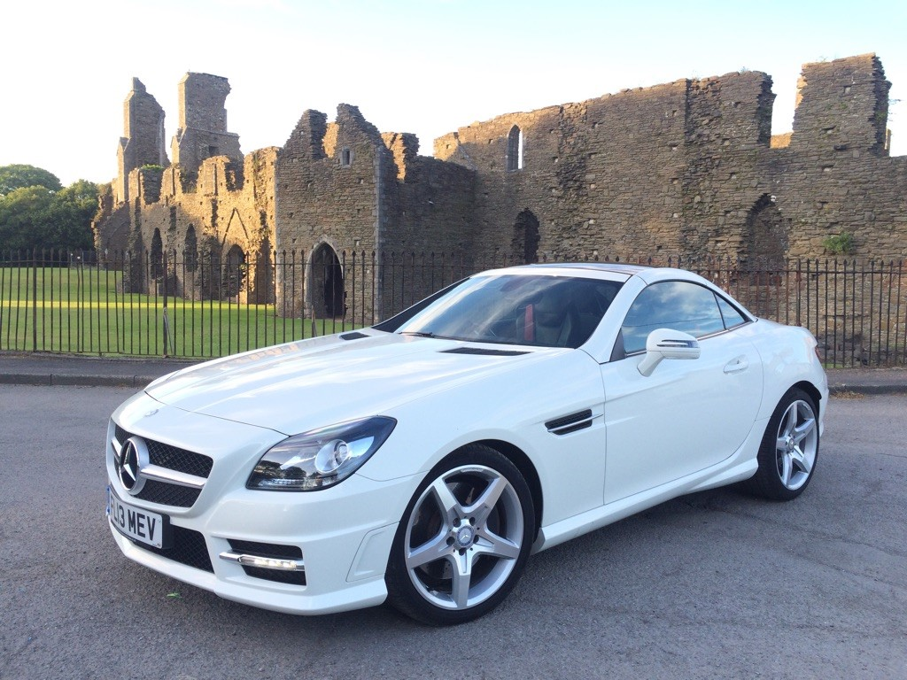 used Mercedes SLK SLK250 CDI AMG Sport 7G-Tronic Plus 2dr (start/stop) in swansea-south-wales