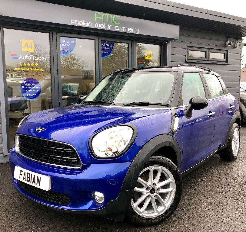 used MINI Countryman COOPER D in swansea-south-wales