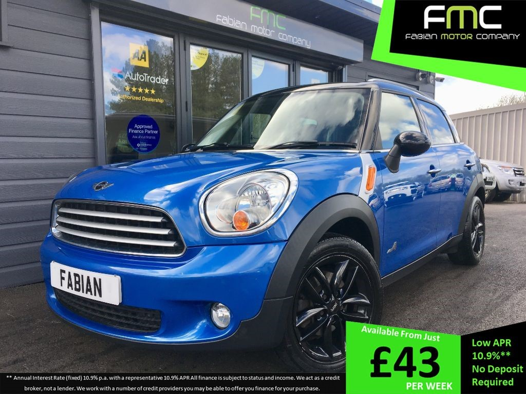 used MINI Countryman COOPER D ALL4 in swansea-south-wales