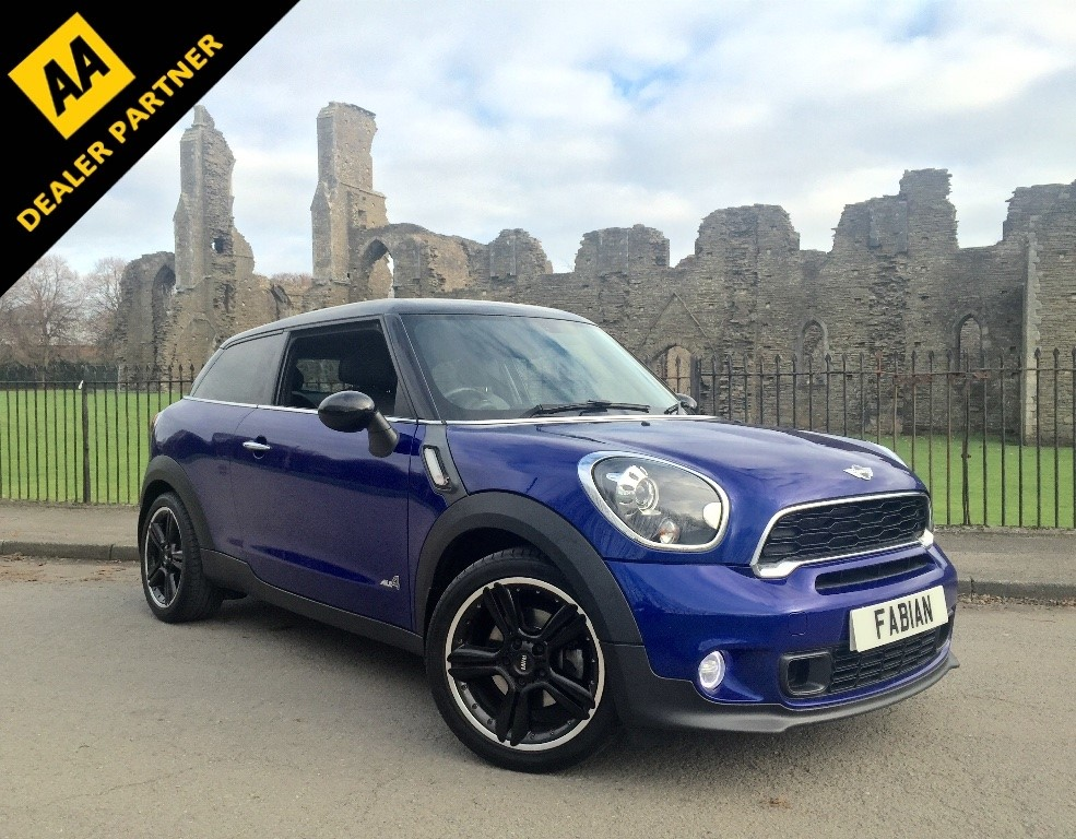 used MINI Paceman Cooper SD ALL4 3dr in swansea-south-wales